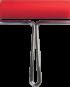Valjček za linotisk, širine 12 cm, premera 3 cm