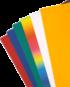 Valovita lepenka, različne barve